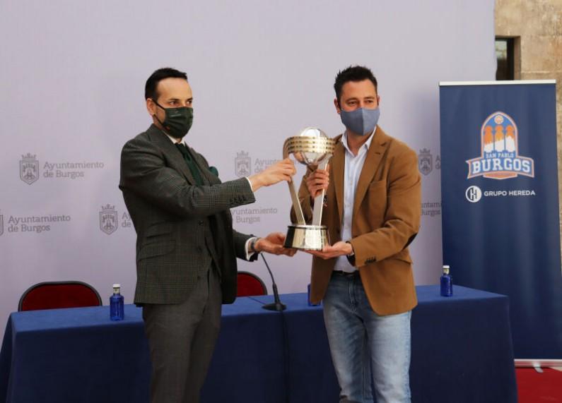 La ciudad de Burgos recibe con orgullo a El San Pablo