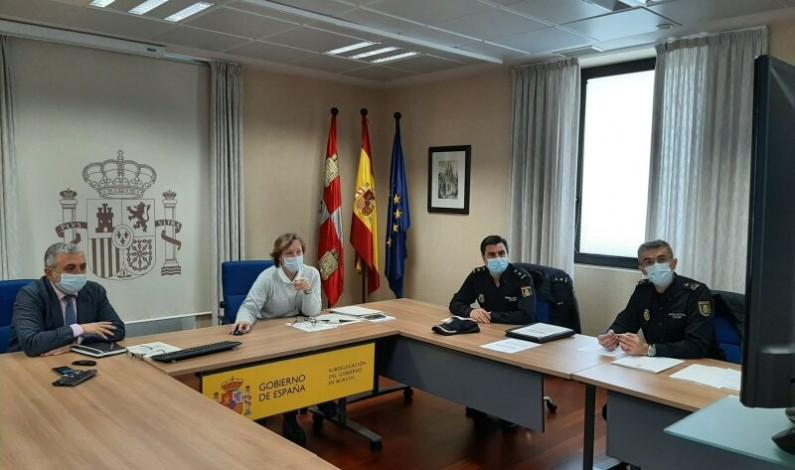 Constituidas las Mesas de Coordinación Policial contra la violencia de género de Burgos, Miranda de Ebro y Aranda de Duero