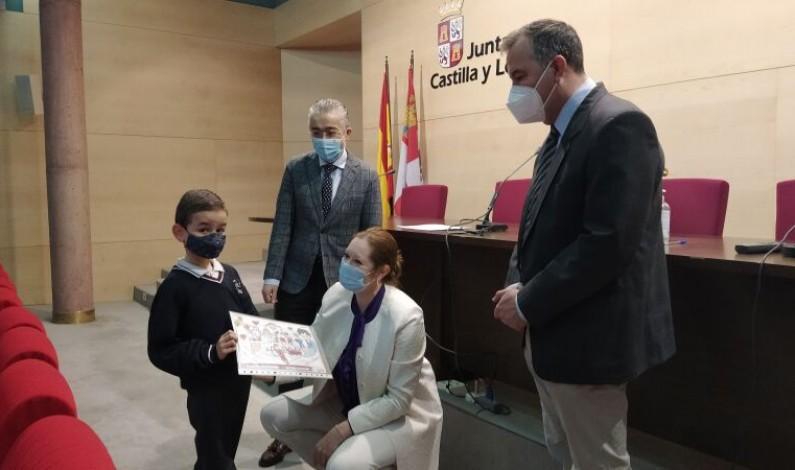 El concurso '¿Qué es para ti el 1-1-2?' premia a dos alumnos y a un colegio de Burgos