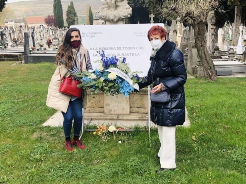 El PP afea a De la Rosa su dejación del espacio dedicado a las víctimas de la COVID-19