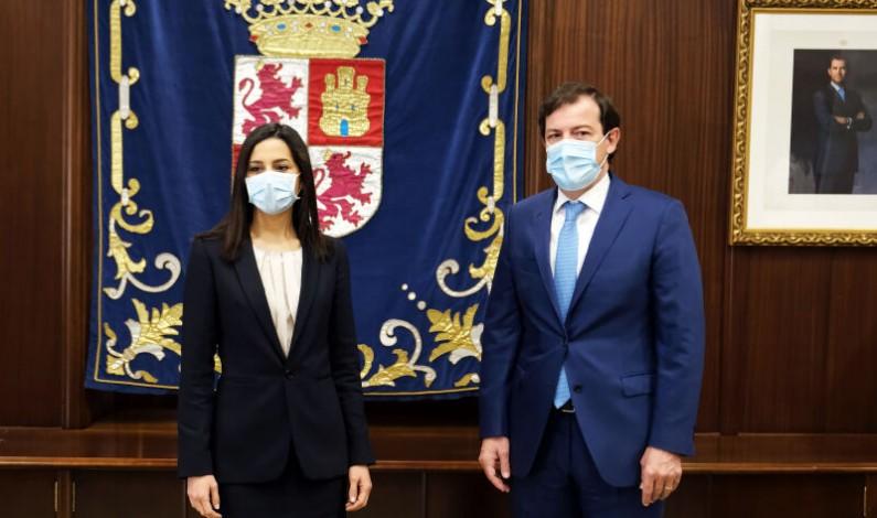 Arrimadas y Mañueco consolidan la estabilidad del Gobierno de Castilla y León