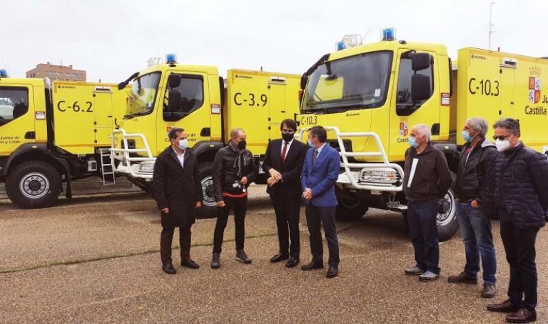 Burgos recibirá nuevas autobombas para el servicio de Extinción de Incendios