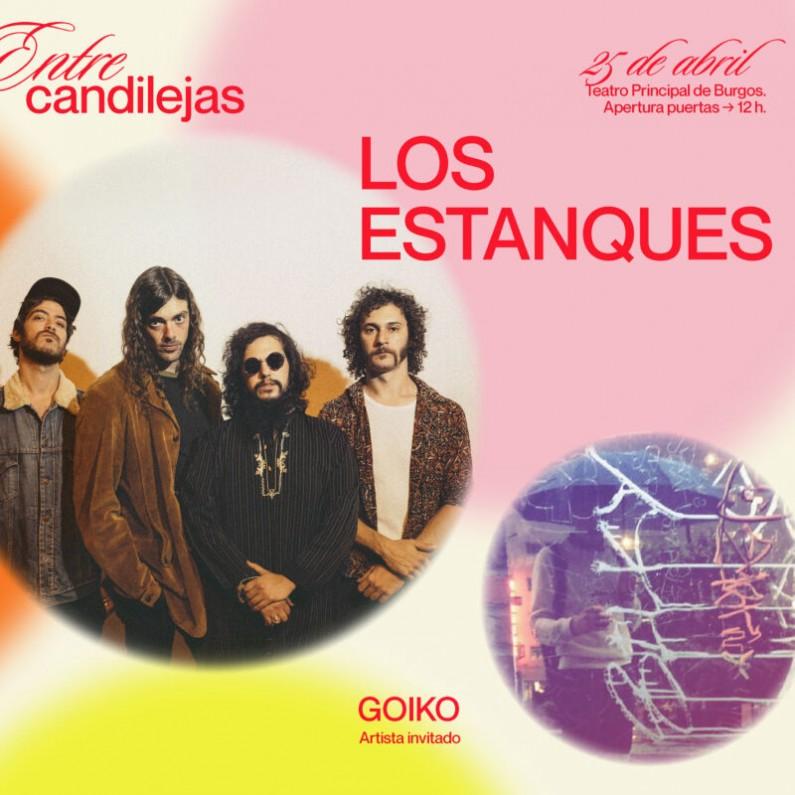 'Los Estanques' y 'Goiko' participarán en el ciclo musical 'Entre candilejas'