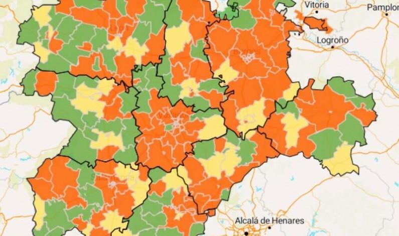 Castilla y León registra hoy 390 nuevos casos de covid-19