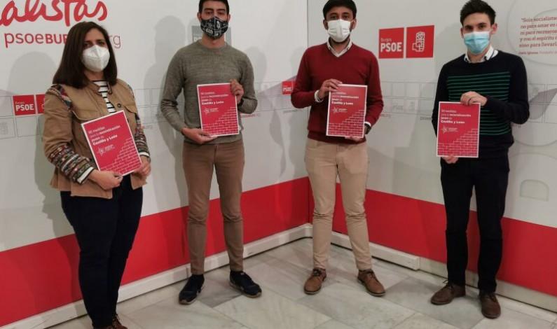 Juventudes Socialistas de Burgos reclama a la Junta acciones concretas para retener al talento joven