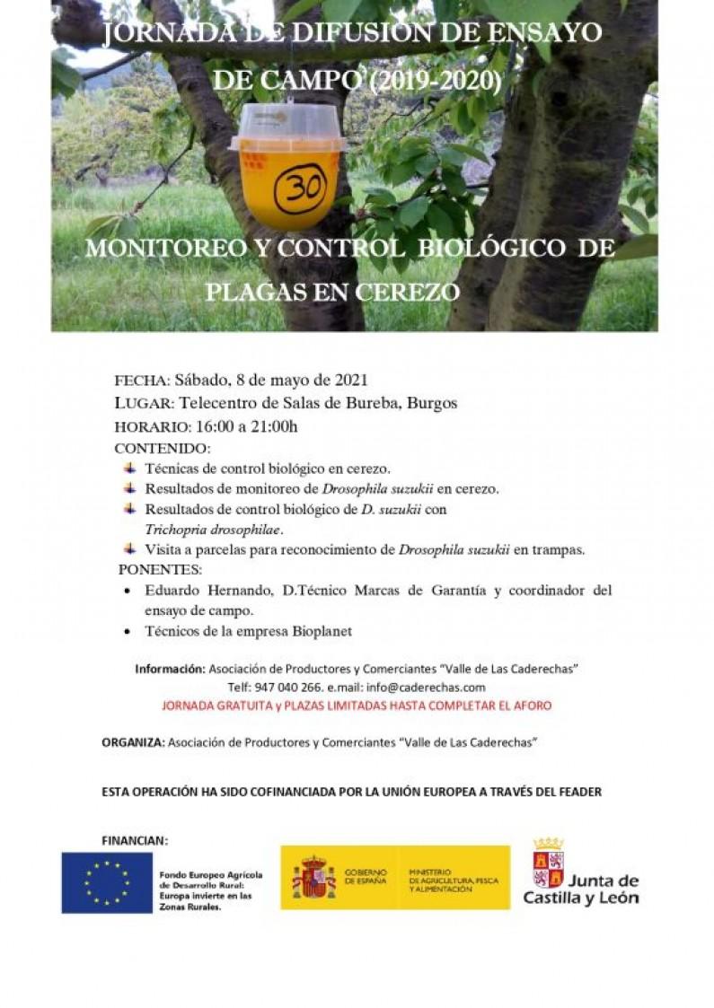 Jornada de Lucha Biológica contra plagas del cerezo en Caderechas