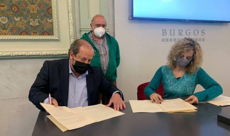 El Ayuntamiento de Burgos firma dos convenios de colaboración con ALCER Burgos y ELACyL