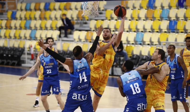 La falta de ritmo ofensivo penaliza al Hereda San Pablo Burgos en Gran Canaria (83-74)