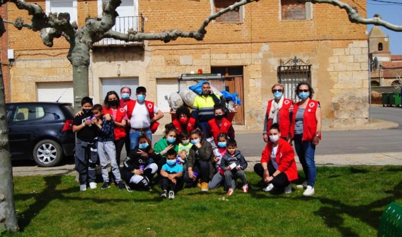 Cruz Roja trabaja en la mejora de la calidad de vida en Arenillas de Río Pisuerga