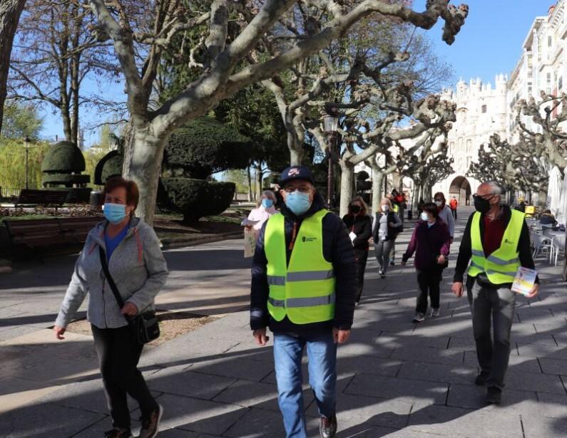 Burgos reacondiciona el programa 'Andar en Salud' a las medidas de la covid-19