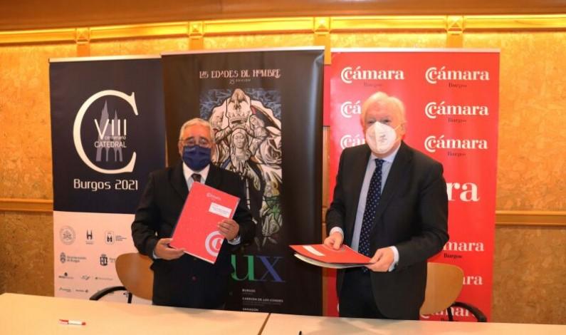 Las Edades del Hombre recibirán 50.000 euros de la Fundación VIII Centenario y la Cámara de Comercio