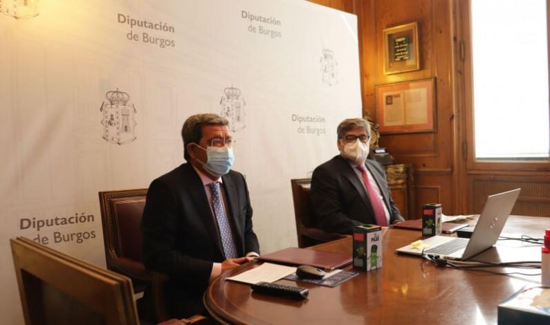La Diputación de Burgos y ECOPILAS renuevan su contrato de colaboración
