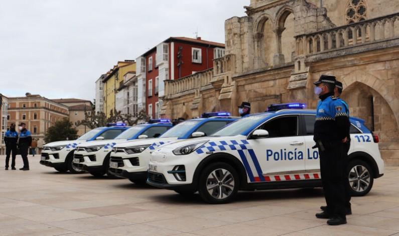 El Ayuntamiento de Burgos incorpora cuatro nuevos vehículos a la flota de la Policía Local