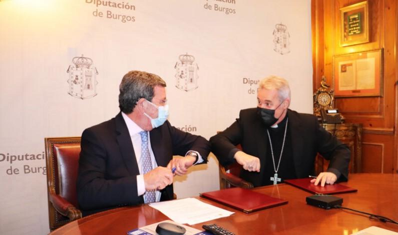 La Archidiócesis y la Diputación de Burgos renuevan el «Convenio de las Goteras»
