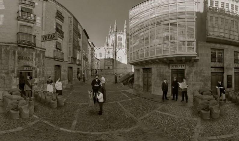 La Universidad de Burgos reconstruye digitalmente el Burgos de 1921 para la Fundación VIII Centenario de la Catedral de Burgos