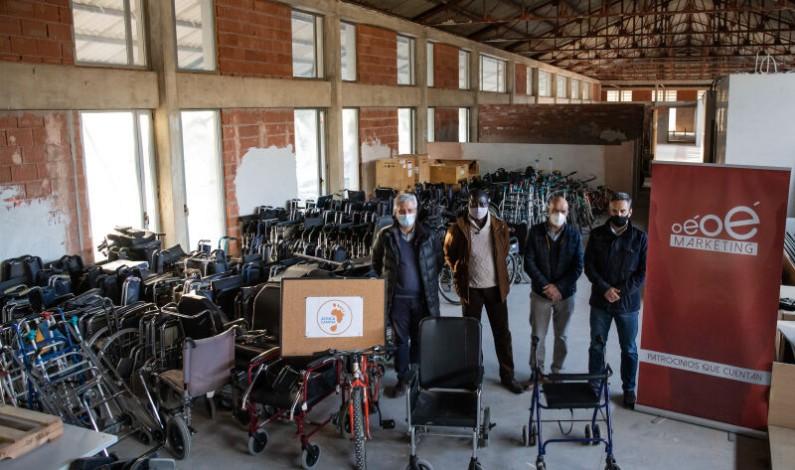 Un contenedor solidario desde Burgos para África