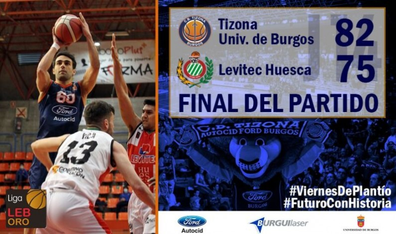 Victoria balsámica para el Tizona Universidad de Burgos