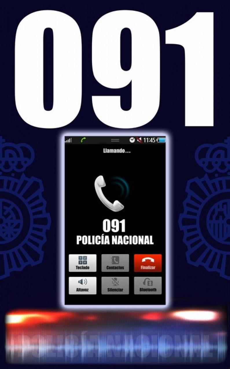 La Policía Nacional de Aranda de Duero detiene a una pareja por violencia doméstica