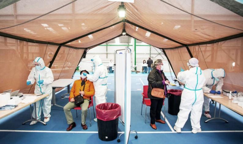 Continúa la vacunación frente al coronavirus en toda la provincia de Burgos