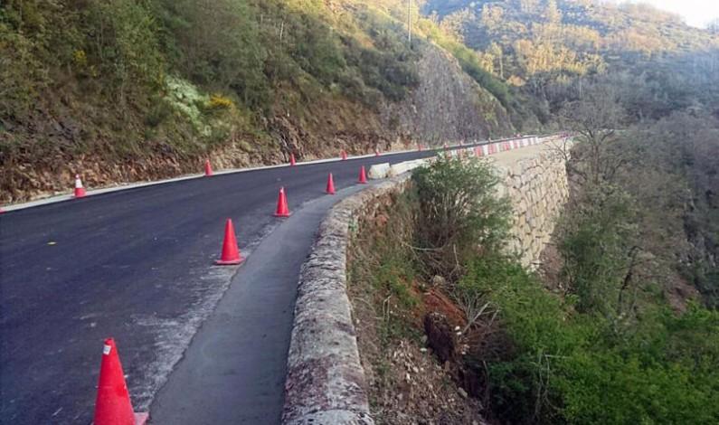 La carretera BU-820 entre Pineda de la Sierra y Riocavado de la Sierra permanecerá cortada al tráfico