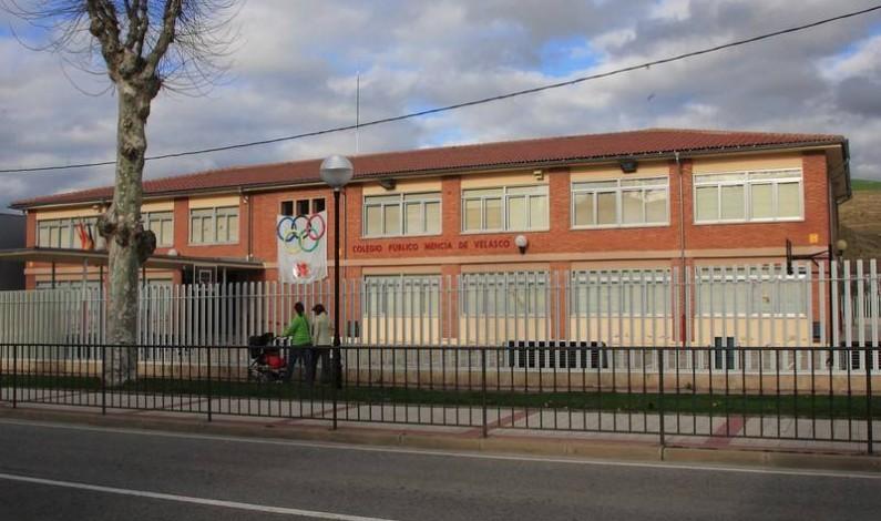 En cuarentena una nueva aula del centro Doña Mencía de Velasco en Briviesca