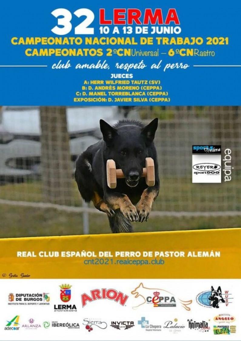 Lerma acogerá el Campeonato de España de Trabajo y Universal del Real CEPPA del 10 al 13 de junio