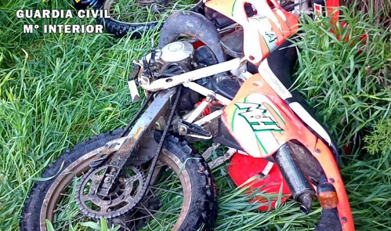La Guardia Civil recupera un ciclomotor sustraído de una vivienda