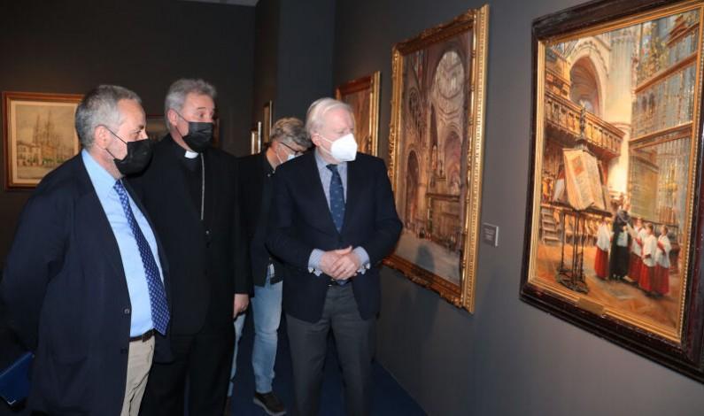 El Fórum Evolución acoge la exposición 'Catedral Eterna. Así la ven' con 114 piezas de arte contemporáneo