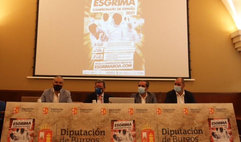Roa de Duero acogerá tres grandes torneos de Esgrima Nacional y Regional a finales de junio