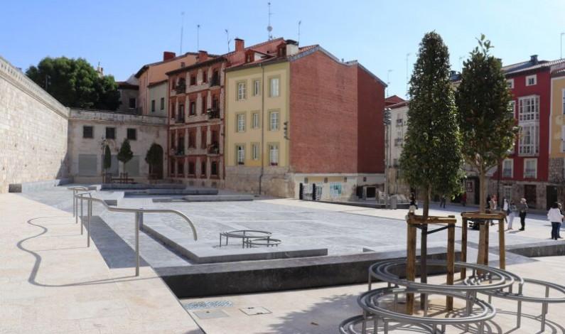 La ciudad de Burgos inaugura la reforma de Las Llanas