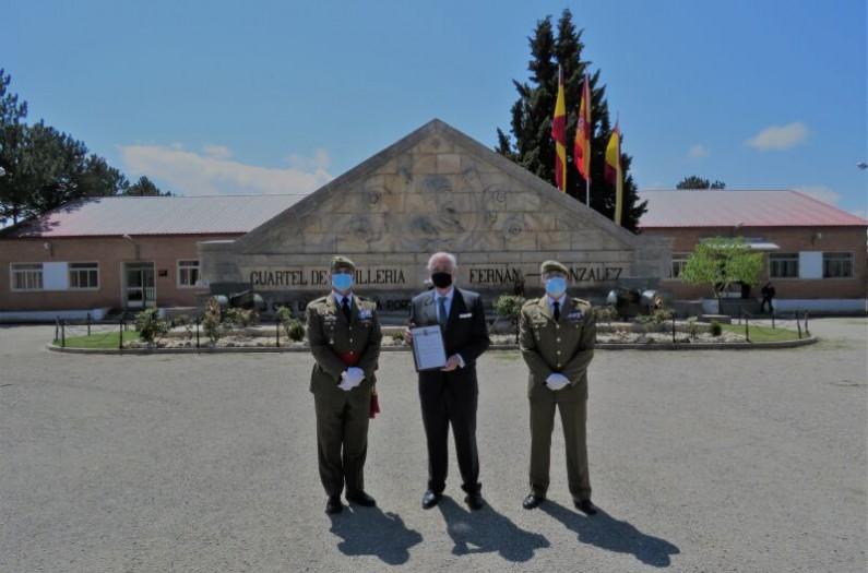 José Luis Concepción Rodríguez es nombrado Embajador «Marca Ejército» por la provincia de Burgos