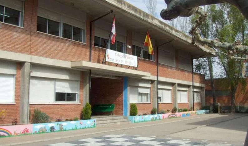 En cuarentena un grupo escolar del CEIP Santa María de Aranda de Duero