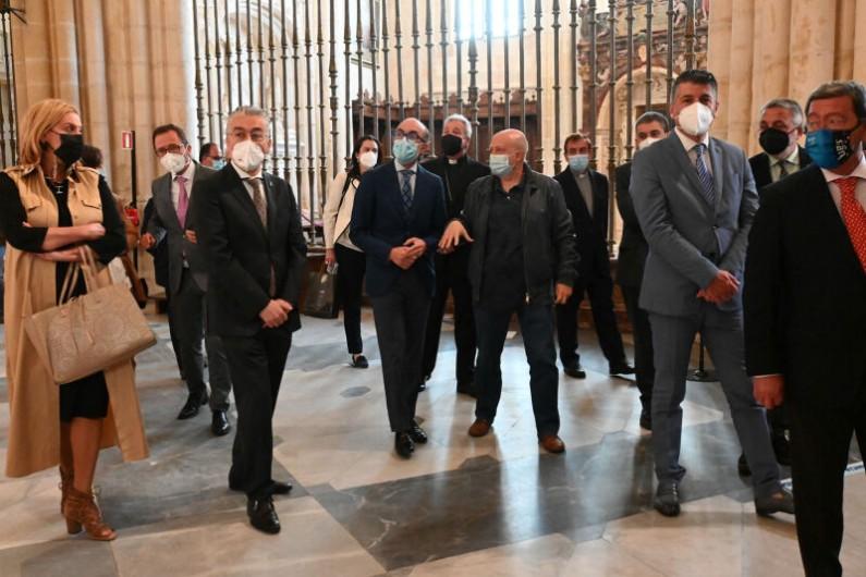 El Trasaltar de la Catedral de Burgos recupera su esplendor