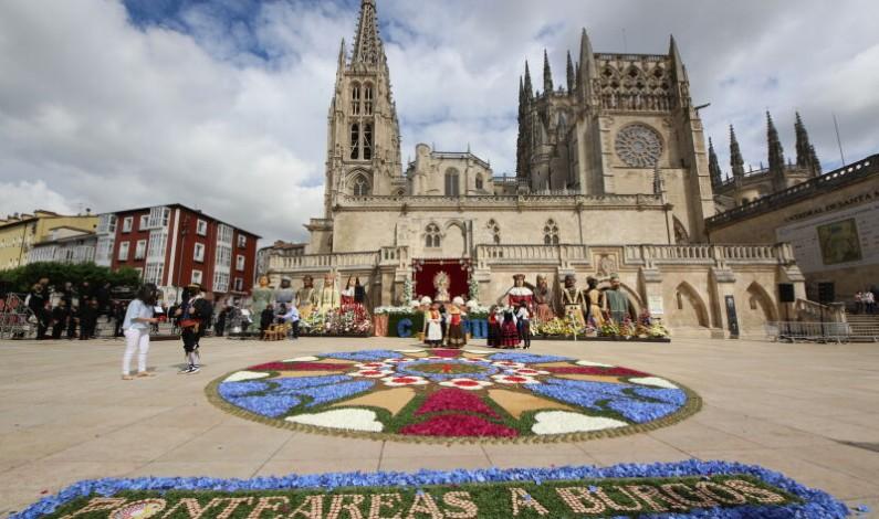Flores a Santa María tras la pandemia