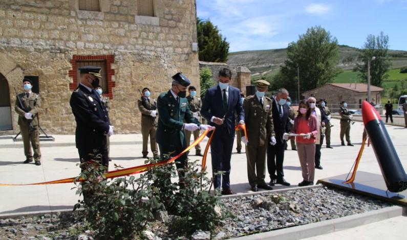 Tamarón rinde un homenaje a las Fuerzas Armadas y Fuerzas y Cuerpos de Seguridad del Estado