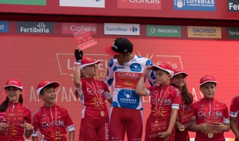 La Vuelta Junior Cofidis llega a más de 2.500 niños y niñas en Burgos