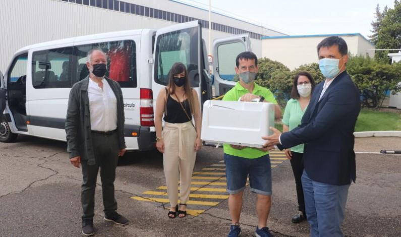 Michelin dona material sanitario a ASADEMA Aranda de Duero