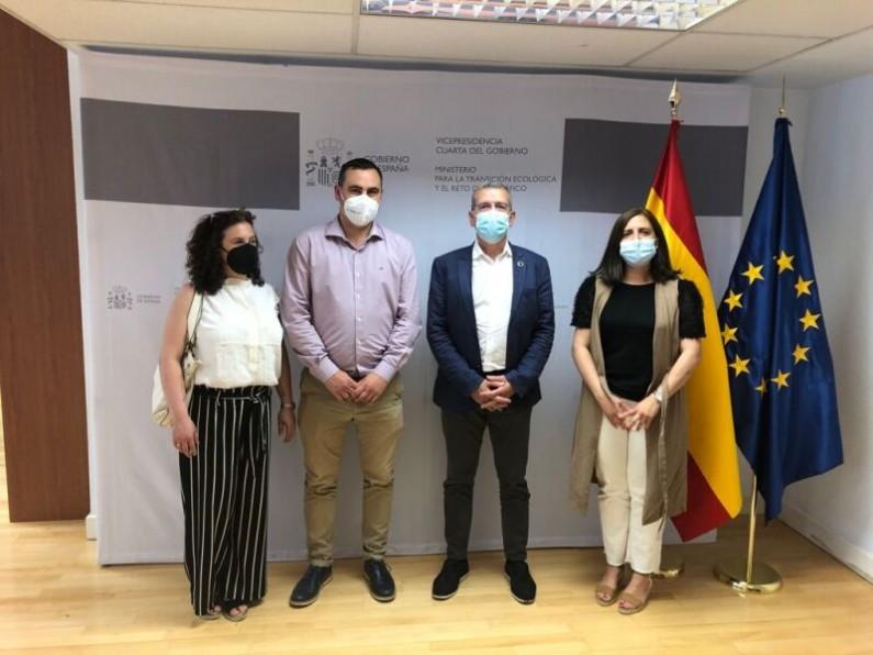 Briviesca presenta en Miteco cuatro proyectos dinamizadores para frenar la despoblación