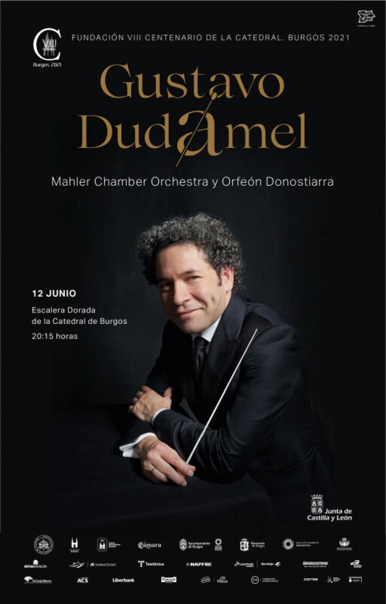 Las entradas para los recitales de Gustavo Dudamel en Burgos, a la venta a solo 10€ para facilitar el acceso universal a la música