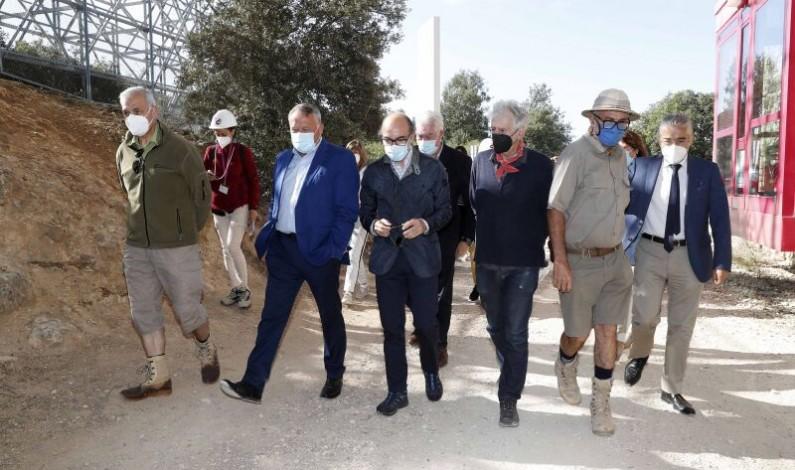 La Junta presenta una nueva línea de subvenciones para el proyecto Atapuerca