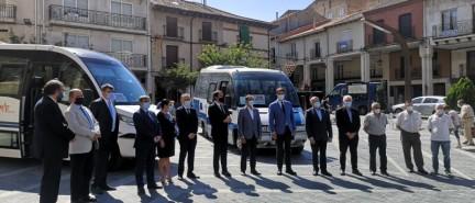Arranca el servicio de bono rural del transporte a la demanda para 28 localidades en Roa de Duero