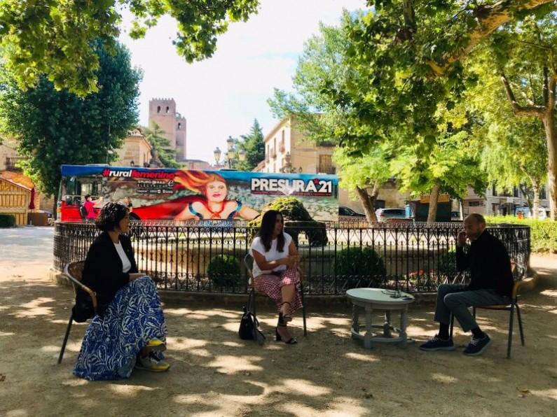 El Autobús de la repoblación regresa a Belorado y Pradoluengo