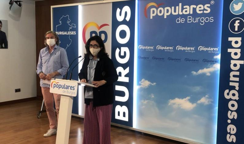 El Partido Popular de Burgos demanda la convocatoria de elecciones a Sánchez