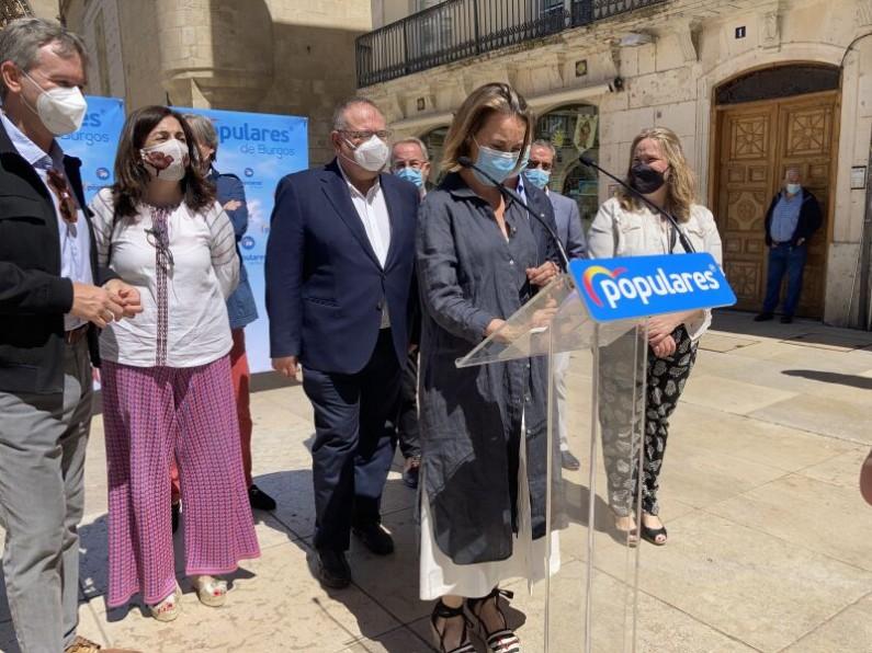 Cuca Gamarra: «Pedimos al Gobierno de España que retire el Anteproyecto de la Ley de Patrimonio»