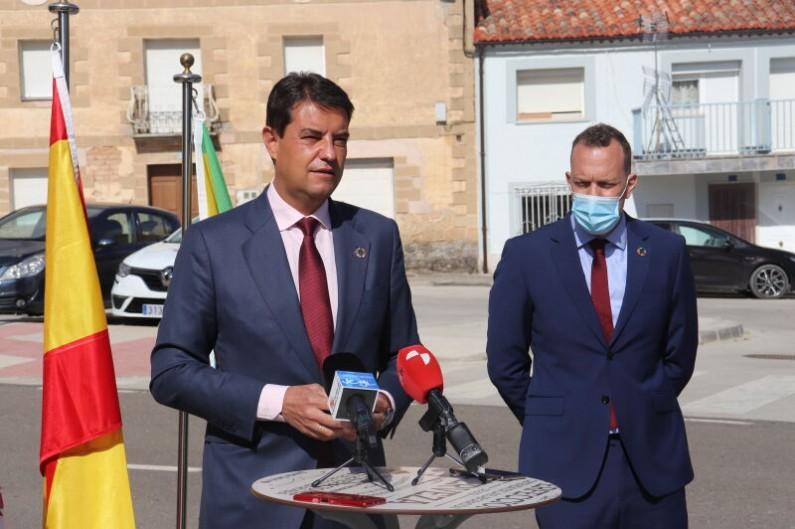 La Junta moviliza 1,9 millones para la modernización de servicios de las mancomunidades burgalesas