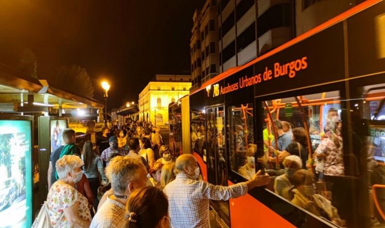 Podemos Burgos critica la «falta de previsión» en autobuses