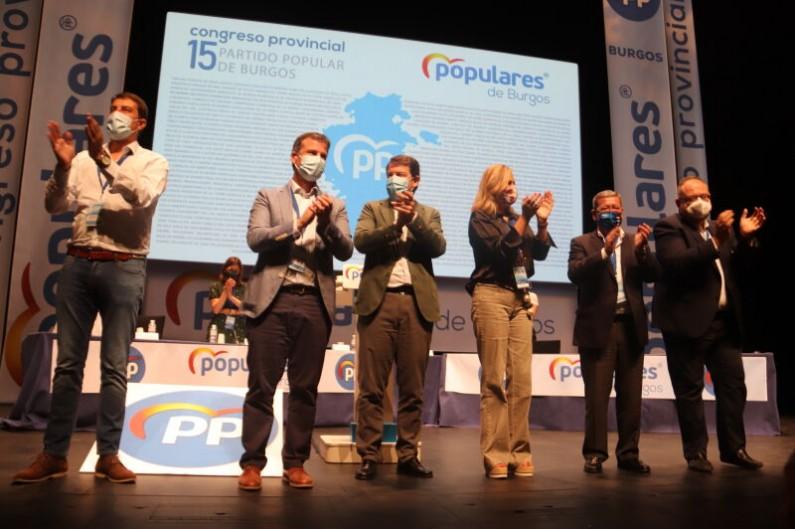 Borja Suárez, nuevo presidente provincial del PP con el apoyo del 98% de los compromisarios