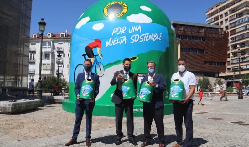 Burgos inaugura el contenedor más grande del mundo para fomentar el reciclaje durante La Vuelta 2021