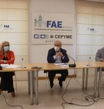 FAE presenta el Índice de Confianza empresarial que muestra «una clara recuperación» de la economía burgalesa