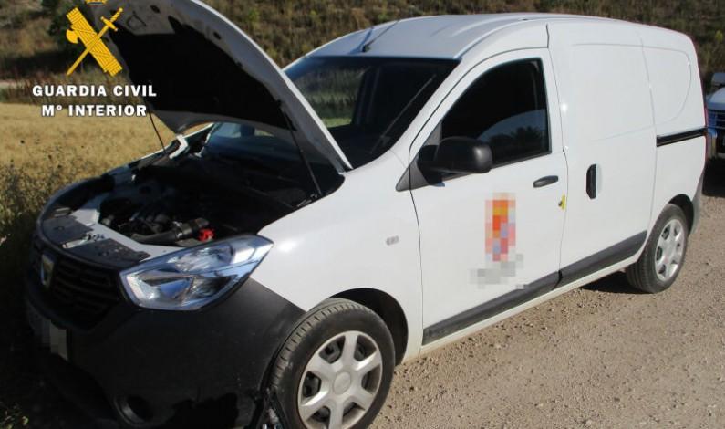 La Guardia Civil recupera un vehículo sustraído de un almacén municipal
